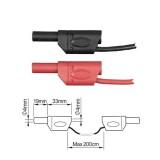 ПрофКиП PTL908-6 измерительные провода 4 мм с двойной изоляцией